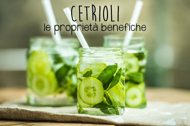 Le proprietà benefiche dei cetrioli