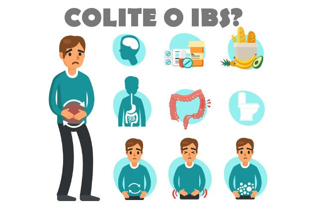 Sarà colite o colon irritabile (IBS)?