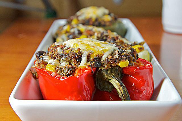 Ricette estive vegetariane verdure ripiene al forno for Ricette vegetariane