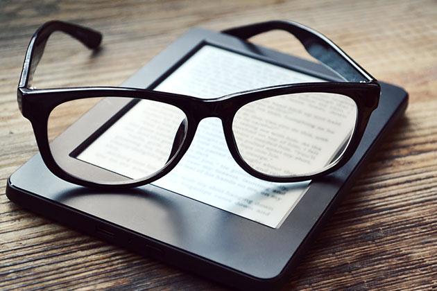 Libri vs kindle: quale è meglio per la vista? malattie e disturbi